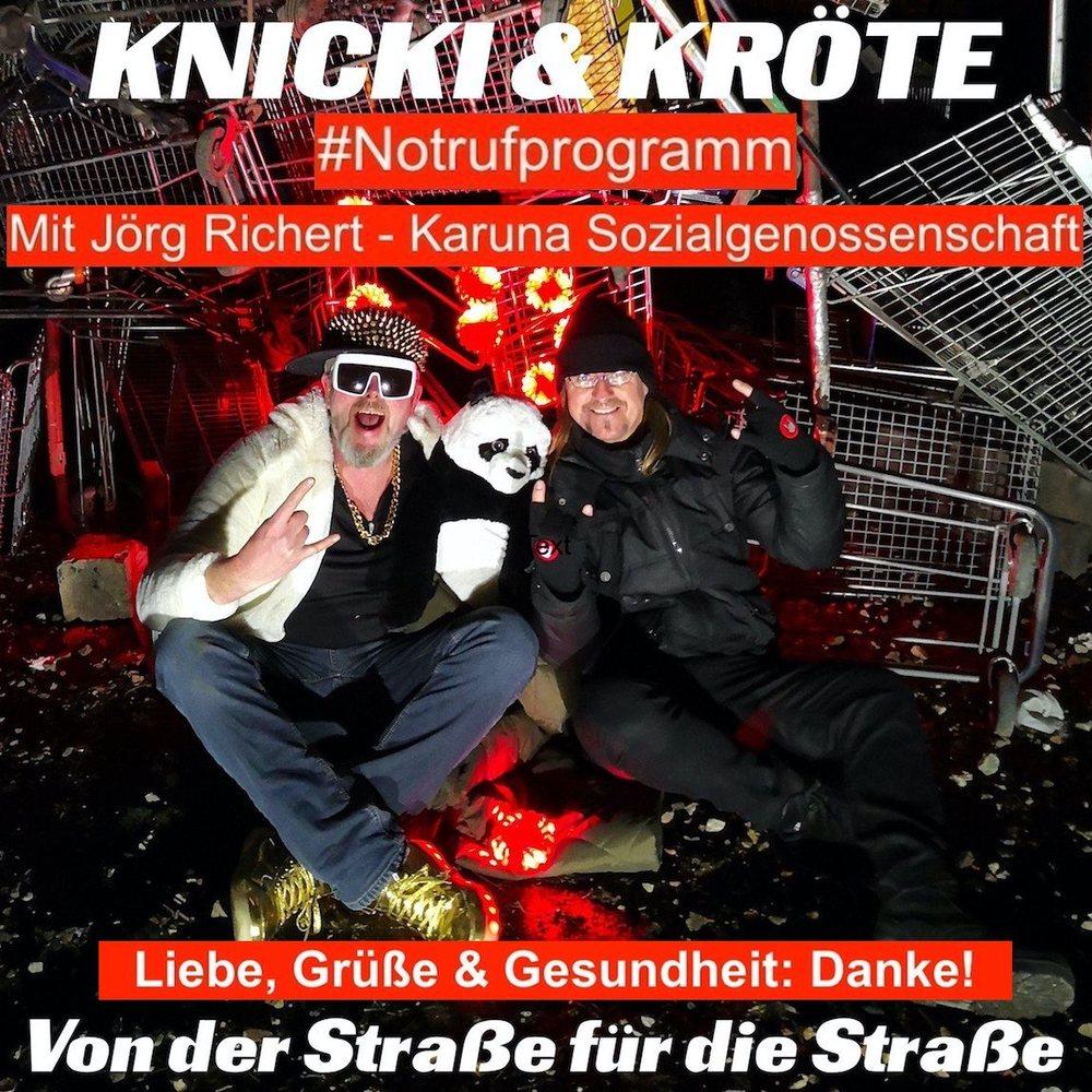 Knicki & Kröte – Von der Straße für die Straße – #Notrufprogramm